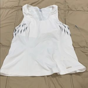 Reebok workout tank with built in bra
